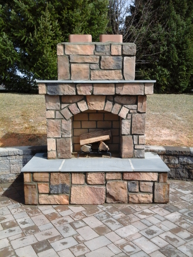 Custom Designed Amp Built Outdoor Fireplace Amp Fire Pit In