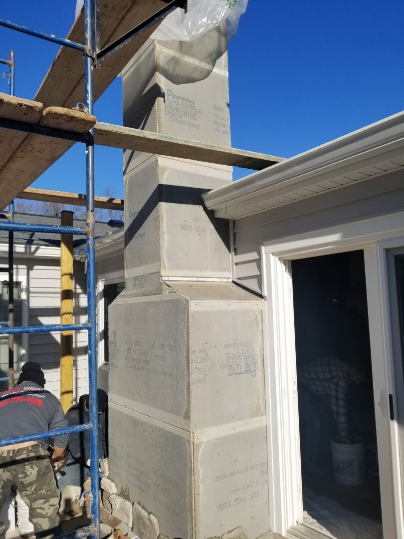 Chimney Rebuild and Repair