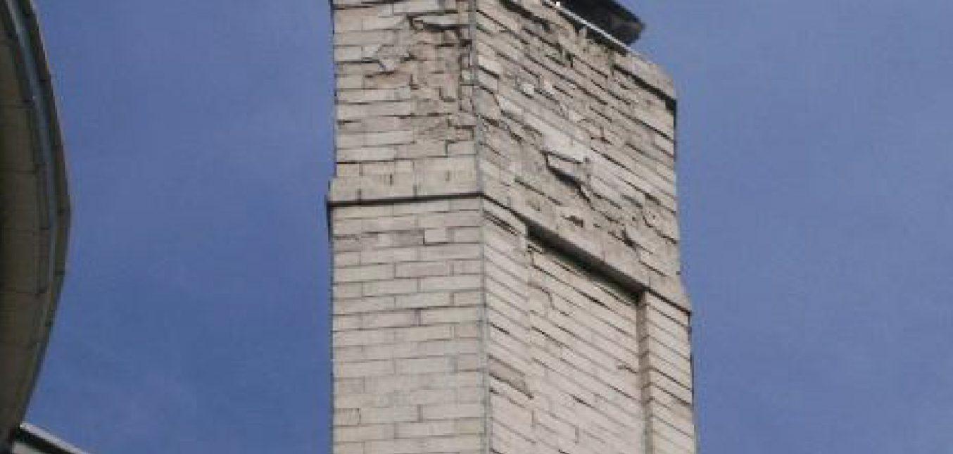 Spalling Brickwork