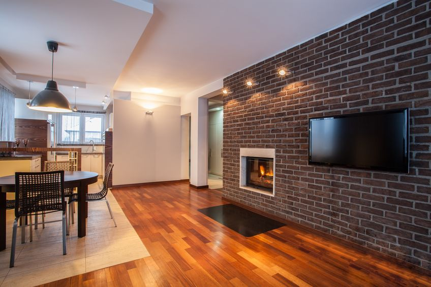 When is Painting Your Brick Fireplace Okay?